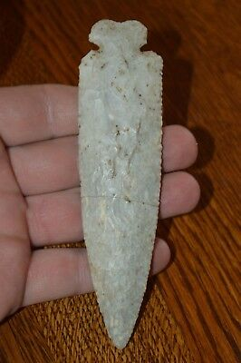 Large High Quality Archaic Dovetail Licking Co Ohio 5.1/8 x 1.3/8 Great Material