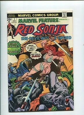 Marvel Feature RED SONJA #1 1st Solo appearance   VF