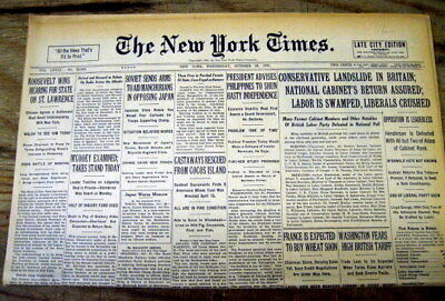1931 NY Times newspaper ALBERT EINSTEIN forms UNIFIED FIELD THEORY of RELATIVITY