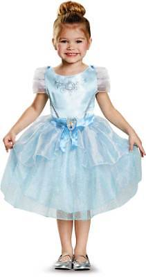 Licensed Disney Princess Cinderella Classic Toddler Girls Halloween Costume