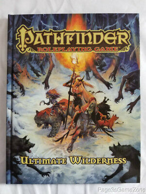 Pathfinder RPG Roleplaying Game Ultimate Wilderness HC Hardcover PZO1140 OGL 3.5
