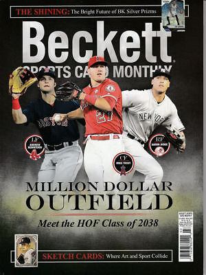 New Beckett Sports Card Monthly Price Guide #396 March 2018