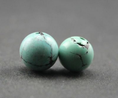 11*11 MM Oriental Vintage Unusual Tibetan Old Dzi turquoise Bead  Free shipping