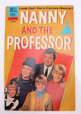 Nanny and the Professor  #1 (NM-) 9.2 Bronze Age Dell 70's TV Show