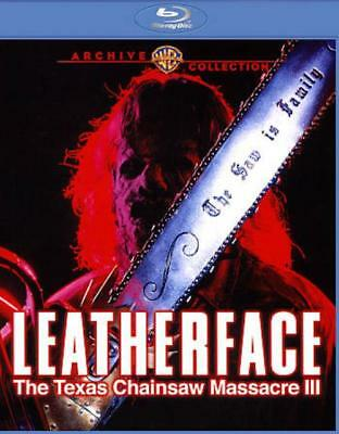 Leatherface: The Texas Chainsaw Massacre 3 Used - Very Good Blu-Ray Disc