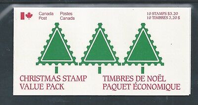 Canada Booklet 1985 Christmas #BK90 MNH