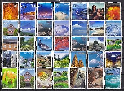 Japan Commemoratives (10) Used