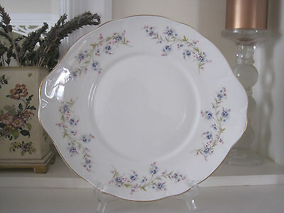 Pretty Vintage Duchess Tranquility Fine Bone China Cake Plate