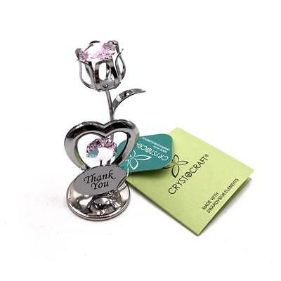 Thank You Gift - Crystocraft Celebration Tulip with engraving SP263