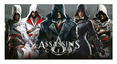 New Assassins Creed 5 Cotton Kids Beach Bath Swimming Towel Holiday Bathroom