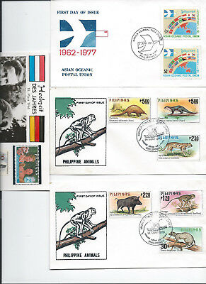 Philipinen 4 FDC aus 1979