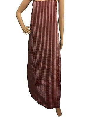 Large Butchers Stripe Waterproof Aprons,  ideal wet jobs check size FREE UK POST