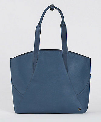 Lululemon AUTHENTIC  ALL DAY TOTE Duffel handbag bag BACKPACK NWT!  astro blue