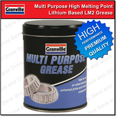 Granville Multi Purpose LM2 Lithium Grease Car Wheel Bearings Joints etc 500g