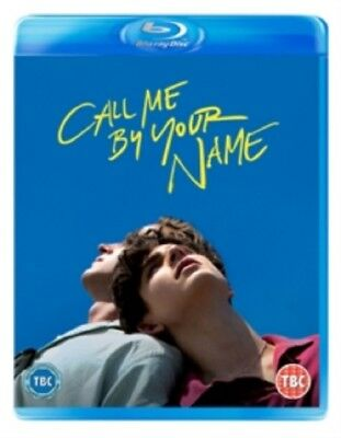 Call Me By Your Name (Timothee Chamalet) New Region B Blu-ray + UV Digital