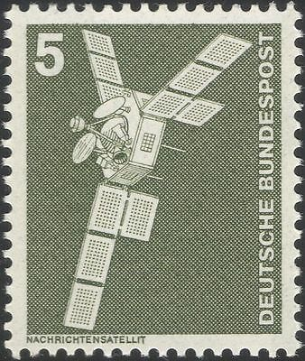 Germany 1975 Industry/Technology/Satellite/Space/Telecomms/Radio 1v (n29148a)