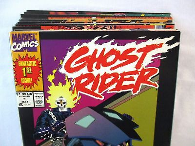 GHOST RIDER #1-20 Complete Set Comic Lot 1st Prints Vol. 2 Marvel 1990-1991
