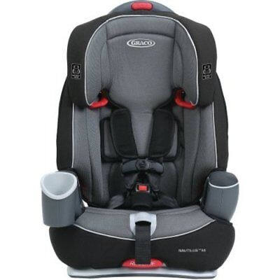 Graco Nautilus 65 3 in 1 Harness Booster Car Seat - Gray (8J100BRV)