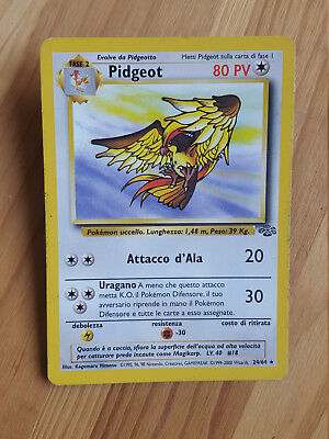 Pidgeot  24/64 rara* - Jungle (ita) Pokemon (sd067)