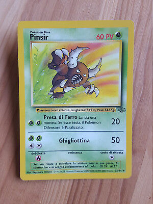 Pinsir  25/64 rara* - Jungle (ita) Pokemon (sd068)