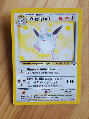 Wigglituff  32/64 rara* - Jungle (ita) Pokemon (sd074)