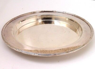 Silver Tray Circular Form By Mappin & Webb