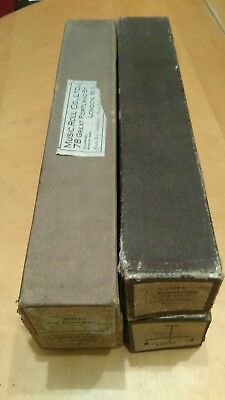 4 Antique Imperial Pianola Rolls