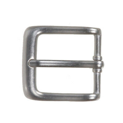 "1 1/8"" (30 mm) Nickel Free Single Prong Rectangular Belt Buckle"