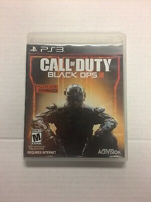 Call of Duty: Black Ops III (Sony PlayStation 3, 2015) Free Shipping Resurfaced