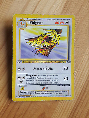 Pidgeot  24/64 rara* - Jungle (ita) 1^ edizione  Pokemon (sd095)
