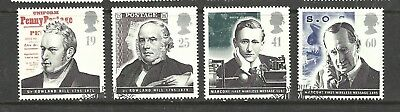 GB QE11 Used postage stamps 1995 pioneers of communications set stamps