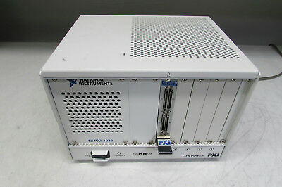 National Instruments NI PXI-1033 CHASSIS w/ GEOTEST GX5291 Module