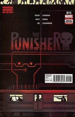 PUNISHER #15 (MARVEL 2017 1st Print) COMIC