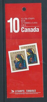 Canada Booklet 1990 Christmas #BK120 MNH ** Free Shipping **