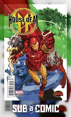 HOUSE OF M #1 TERADA MANGA VARIANT (MARVEL 2015 1st Print) COMIC