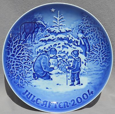BING & GRONDAHL 2004 Christmas Plate B&G - NEW in BOX!  The Christmas Tree