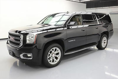 2015 GMC Yukon SLT Sport Utility 4-Door 2015 GMC YUKON XL SLT 4X4 7-PASS LEATHER NAV DVD 35K MI #120259 Texas Direct