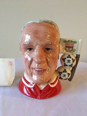 Royal Doulton Liverpool Centenary Limited Edition Bill Shankly Character Mug