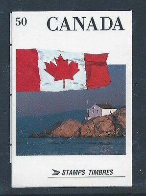 Canada Booklet 1990 Flag #BK123 MNH ** Free Shipping **