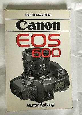 Canon EOS 600 user guide