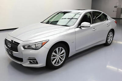 2016 Infiniti Q50 Base Sedan 4-Door 2016 INFINITI Q50 2.0T PREMIUM SUNROOF REAR CAM 28K MI #202805 Texas Direct Auto
