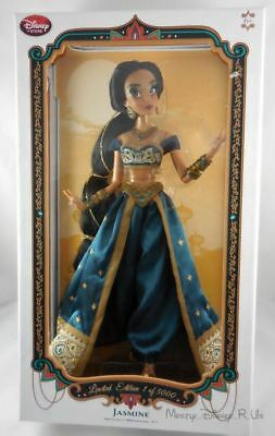 """New Disney Store Limited-Edition 17"""" Aladdin ~ Jasmine Collector Doll LE 5000"""