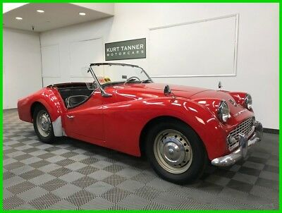 1958 Triumph TR3 4-SPEED WITH OVERDRIVE GEARBOX 1958 TRIUMPH TR3A SPORTS ROADSTER. NICE RUNNING, DRIVING CAR FOR IMPROVEMENT