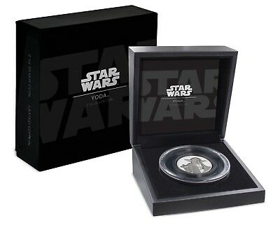 2018 Star Wars - Yoda™ Ultra High Relief 2 oz Silver Coin - 3rd coin