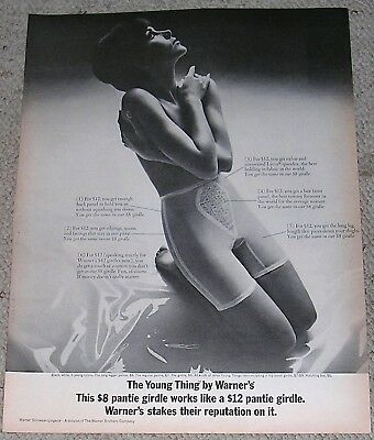 1966 Warners Girdle Young Thing Ad.