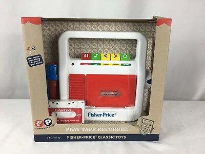 Fisher-Price Play Tape Recorder New
