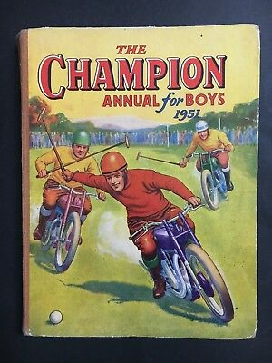 Champion Annual For Boys From 1951