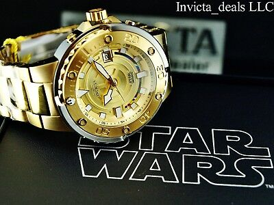 NEW Invicta Star Wars Men's 49mm Grand Scuba Limited Edition Automatic SS Watch