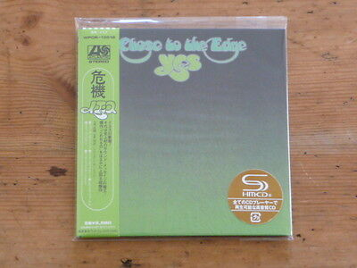 Yes: Close to the Edge SHM CD Japan Mini-LP WPCR-13516 SS (bruford wakeman QH