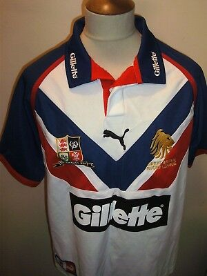 England Rugby League Shirt Size Large